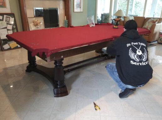 repairing pool table providence ri